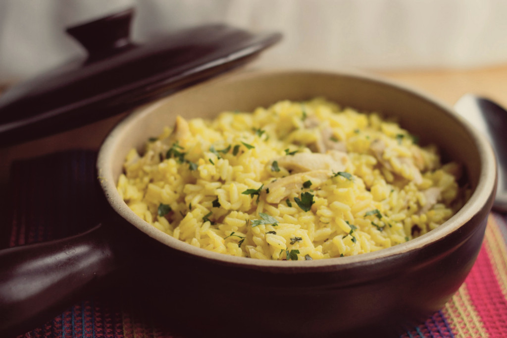 chicken-saffron-rice